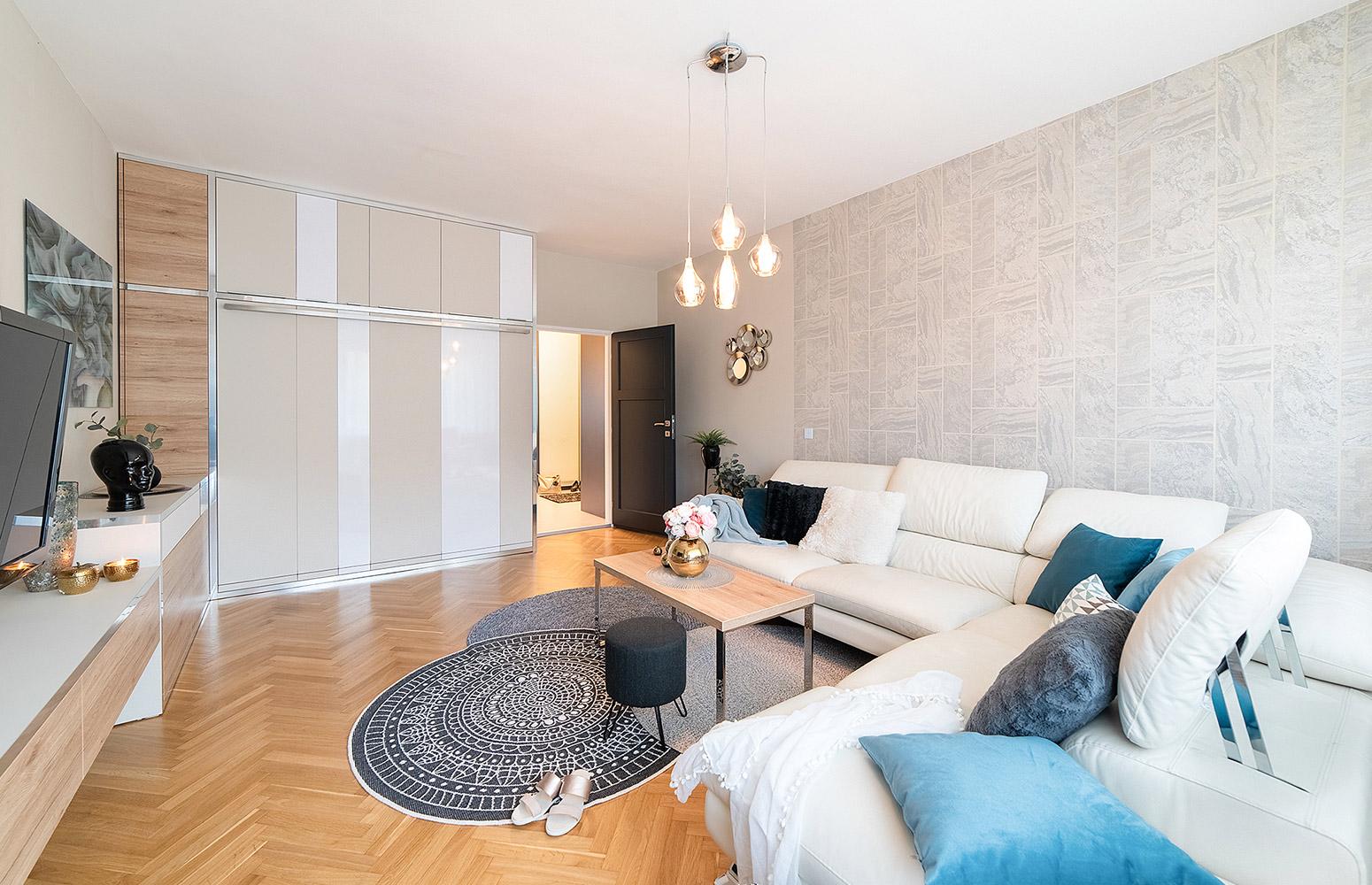 Moderný interiér bytu v Brne od design-factory