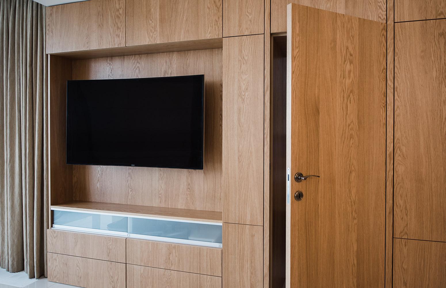 Moderný interiér bytu v komplexe River Park, v Bratislave od design-factory