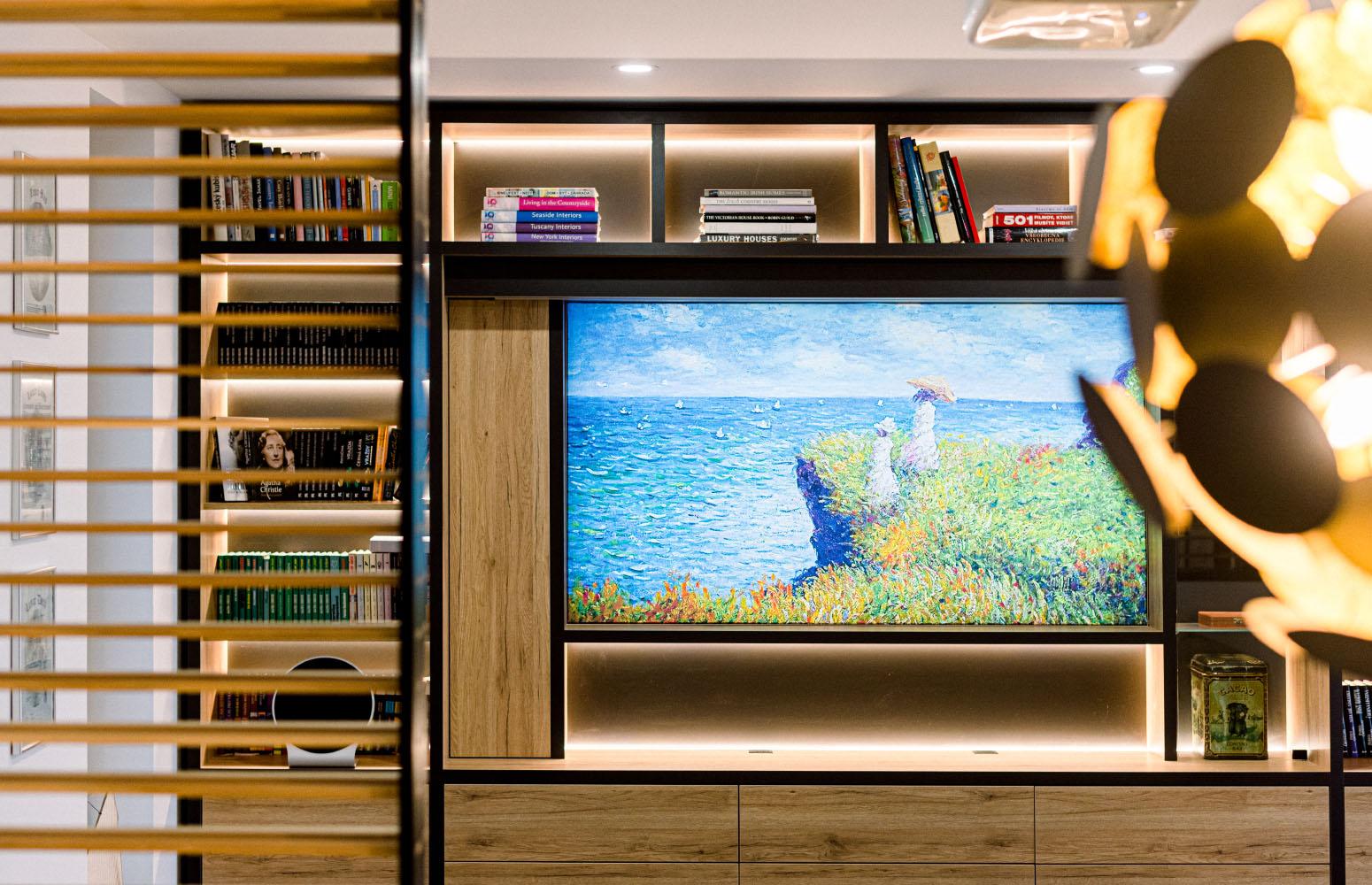 Moderná obývačka od design-factory
