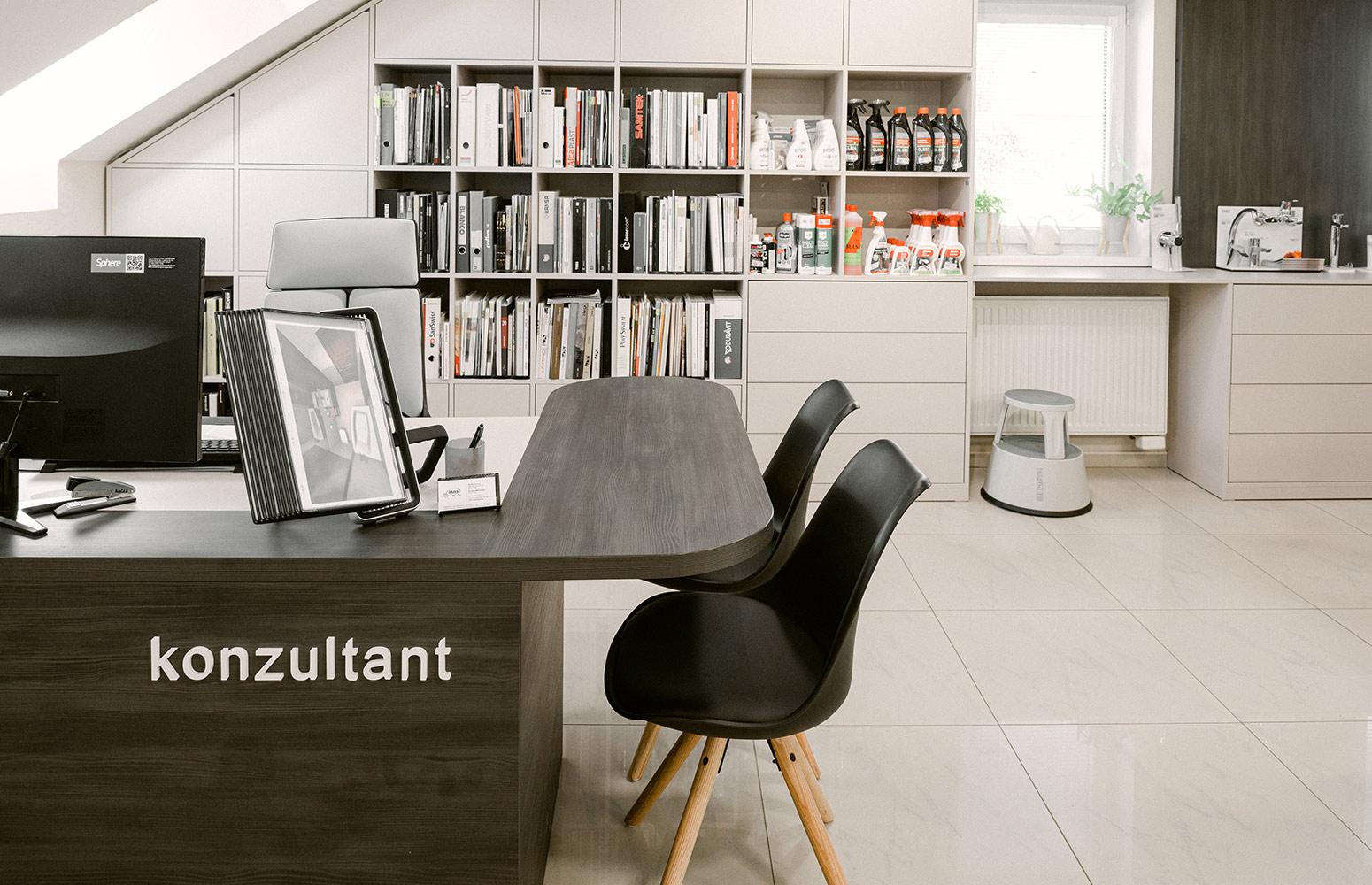 Komerčný interiér - Kúpeľňové štúdio Masaryk od design-factory