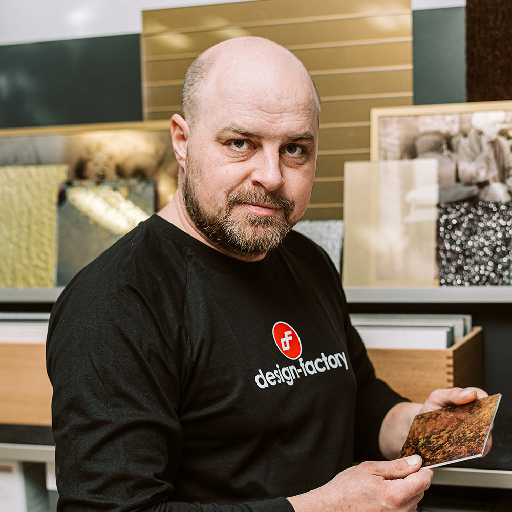 Juraj Šebesta - Technológ v design-factory