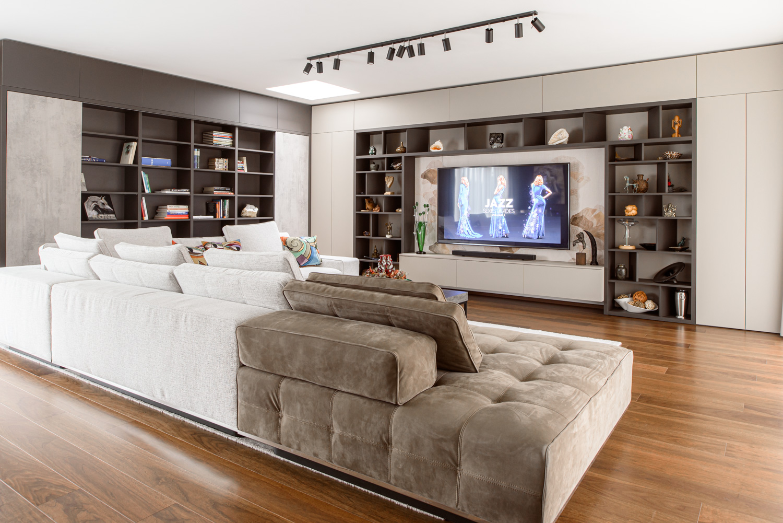 Interiér domu na Devíne v Bratislave od design-factory